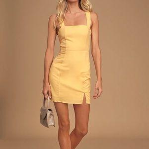 Tie Back Mini Dress
